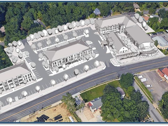 Somerdale officials have announced plans for a mixed-use development at the former Our Lady of Grace parish headquarters on the White Horse Pike.