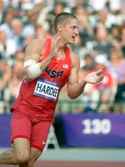 Trey Hardee took silver in the decathlon in the 2012