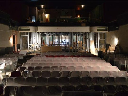 Renovations continue at the Capri Theatre, but an opening date has been set for April 14.