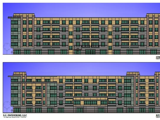 Above is a rendition of the River East Flats.