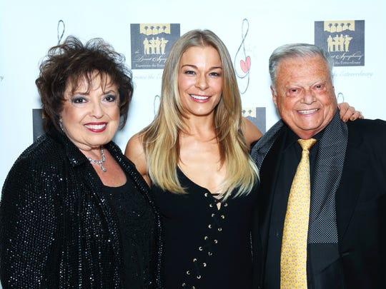 Nancy Tapick, LeAnn Rimes, and Harold Matzner.