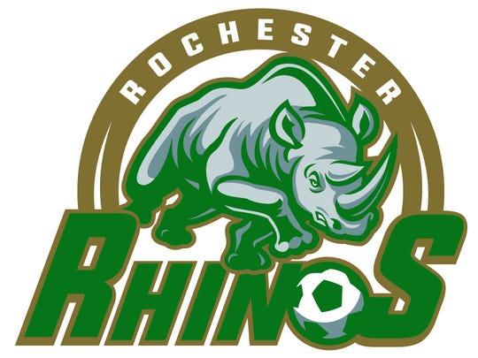 Rochester Rhinos' 2016 logo.