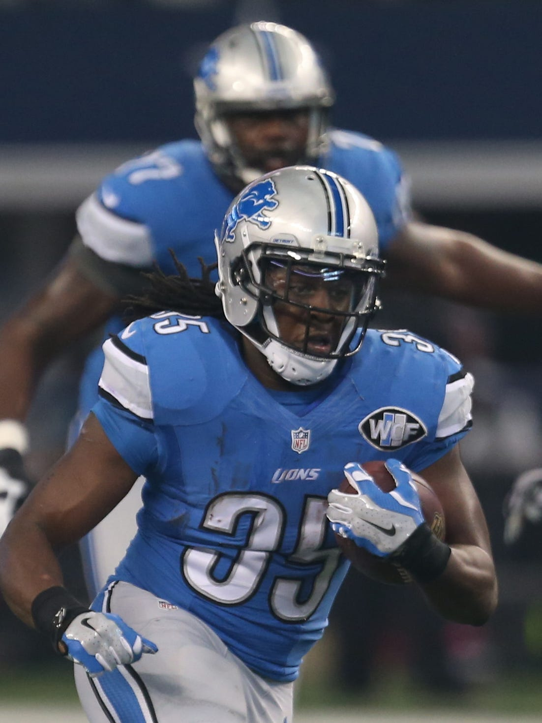 Detroit Lions' Joique Bell says return to the field is near