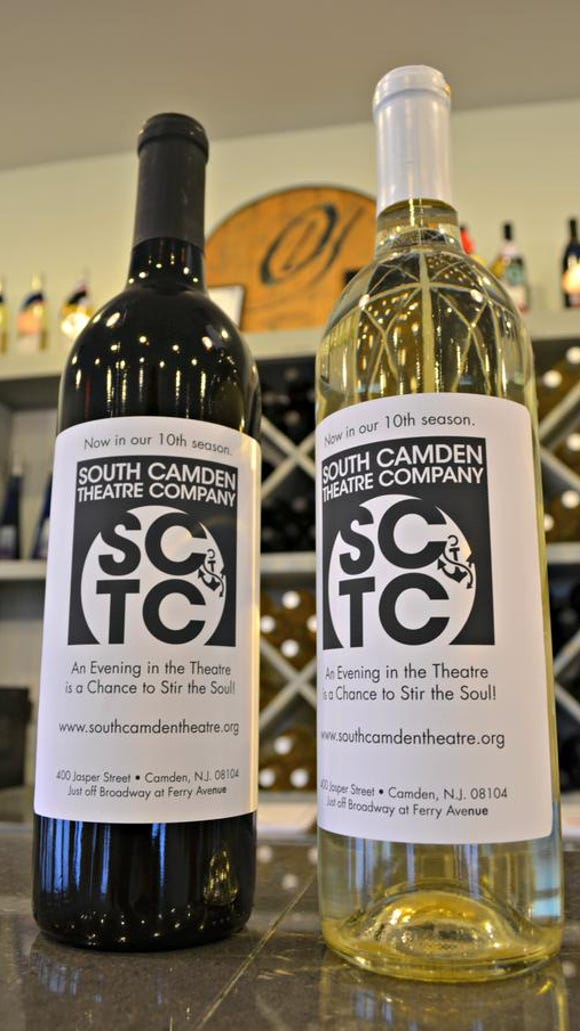South Camden Theatre Company Wine will be available in samples next Friday at the theater's opening night of 'Fortune Cookies.