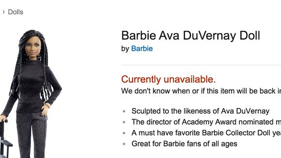 The Barbie Twitter account sent out a link to purchase