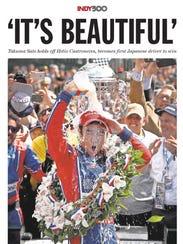 Takuma Sato wins the 2017 Indy 500