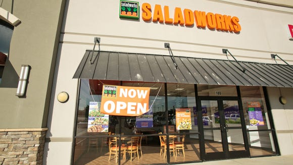 Saladworks has locations across the country and overseas, but sees its growth potential in New Jersey, Maryland and Delaware.
