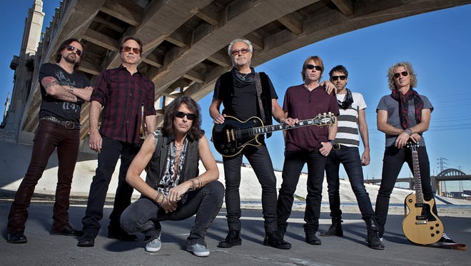 Foreigner plays the PNC Bank Arts Center in Holmdel on Saturday.