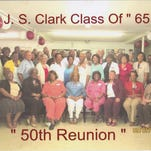 The J.S. Clark Class of  '65 celebrated its 50th reunion in September.