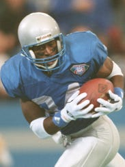 WR Herman Moore. Then: The Lions' first-round pick