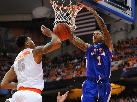 NCAA Basketball: Louisiana Tech at Syracuse