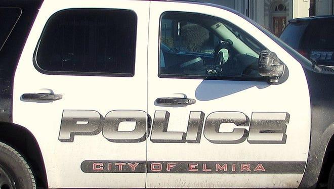 Elmira police car