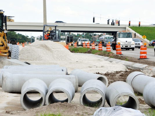 1-95 and Wickham project on hold