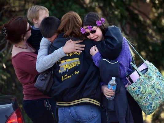 APTOPIX High School Stabbings