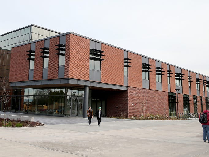 The new College Instruction Center at Olympic College's