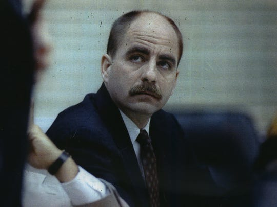 Jesse Anderson is shown during his 1992 trial for the