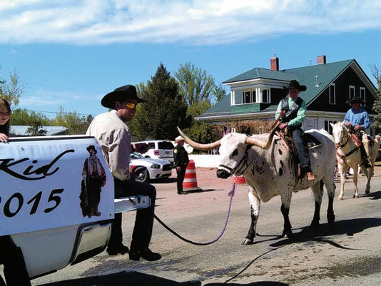 There were plenty of sights to see at last weekend's Smokey Bear Days in Capitan. The parade, always a crowd pleaser, included bicyclists, area EMS vehicles, riders on horseback and one young man riding a Texas Longhorn. For a photo recap on the parade and more area weekend events see page A7.