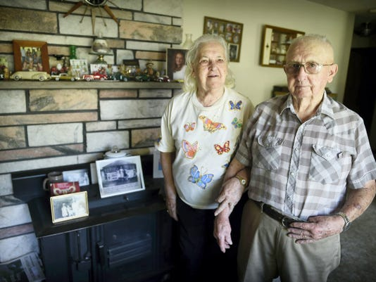 Harold and Kathryn Kreider will celebrate their 72nd anniversary on Thursday. Soon to be 92 and 90 respectively, Harold and Kathryn met at the Lickdale Diner close to the beginning of America's involvement in World War II.