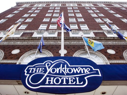 The Yorktowne Hotel is for sale and the York County Industrial Development Authority wants to see it stay in local hands.