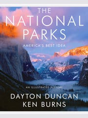 """DVD cover of """"The National Parks America's Best Idea'"""