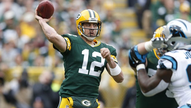 Packers quarterback Aaron Rodgers is quickly putting himself near the top of the MVP race.