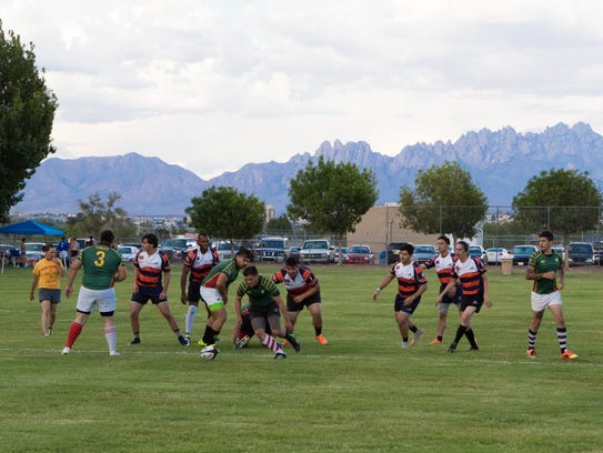 NMSU Chiles Rugby Club goes up against the UTEP Miners
