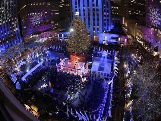 Rockefeller Center Tree (2)