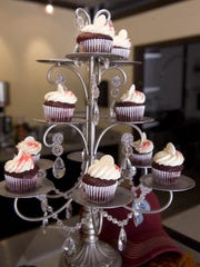 Mini cupcakes are the specialty of Indulgence Cupcakery in Haddonfield. The specialty bakery is also offering classes for couples and children for Valentine's Day.