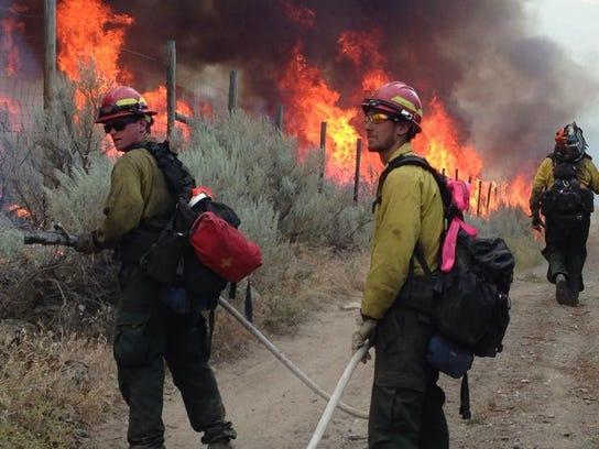fire frontlines
