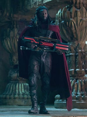 """In """"X-Men: Days of Future Past,"""" the mutant Bishop (Omar Sy) prepares for an epic battle that will determine the fate of mutants around the world."""