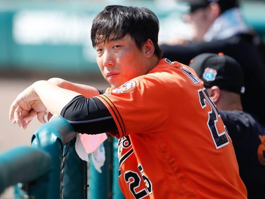 MLB: Spring Training-Baltimore Orioles at Atlanta Braves
