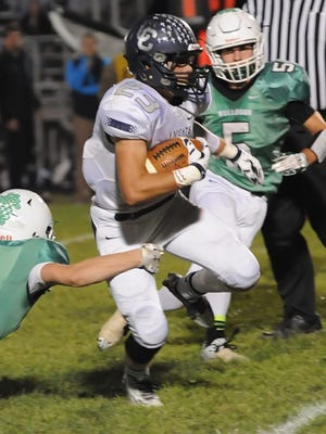 It was the Jackson Anthrop show Friday night in Michigantown as Central Catholic demolished Clinton Central.