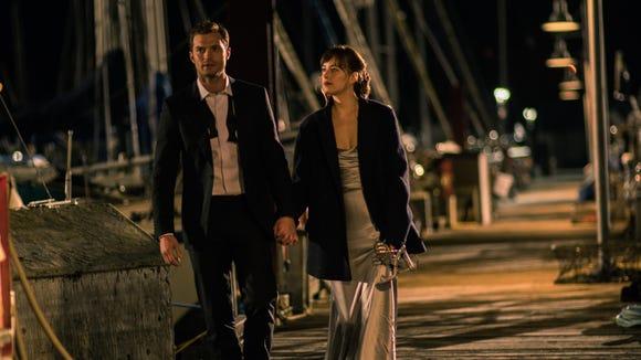 Jamie Dornan and Dakota Johnson return as Christian