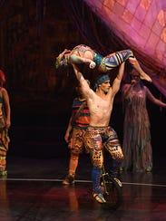 """Volta,"" Cirque du Soleil's new show featuring costumes"