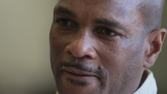 Charles Pierre talks May 6 about his case from his current home in Attica Correctional Facility.