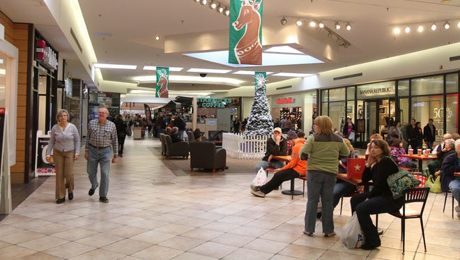 Black Friday shopping at Marketplace Mall in Henrietta.
