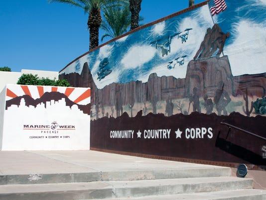 Marine Corps Mural
