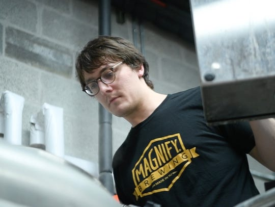 Head Brewer Erich Carrle.