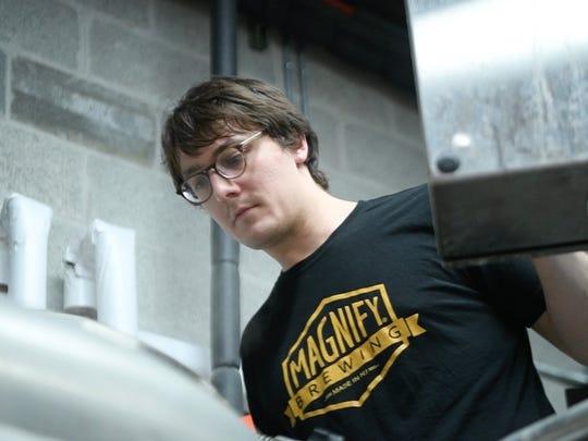 Head Brewer Erich Carrle.