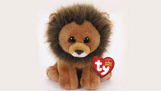 Ty Warner introduces Cecil the Lion Beanie Baby