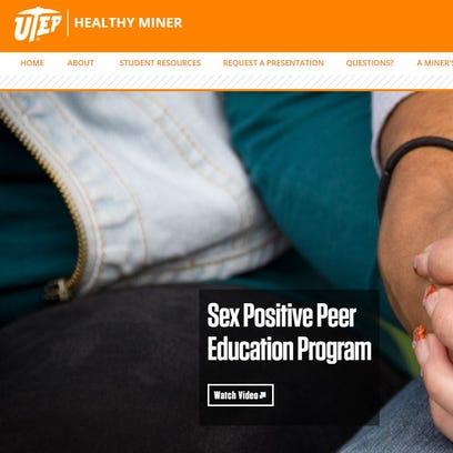 University of Texas at El Paso's Healthy Miners website