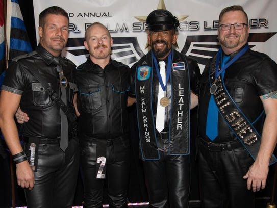 The final four vying for Mr. Palm Springs Leather 2018