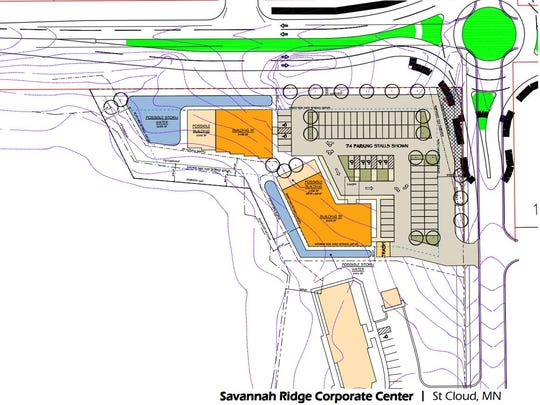 A site drawing shows proposed plans for the Savannah
