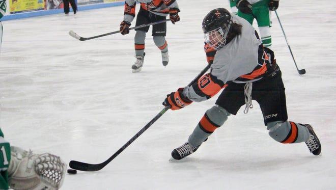 Vinny Tomasetti of Middletown North ice hockey.
