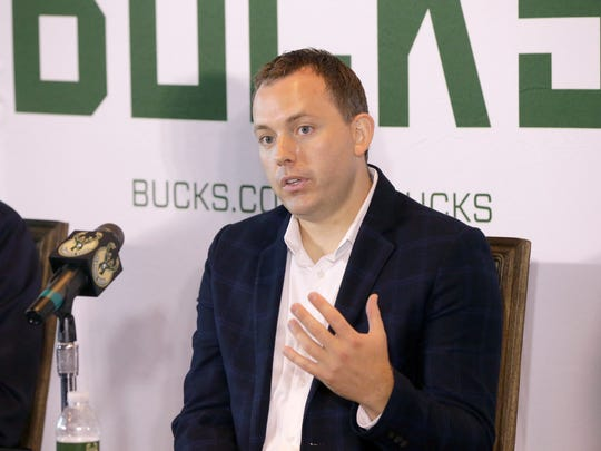 Bucks general manager Jon Horst put together a team that won 60 games in the regular season.