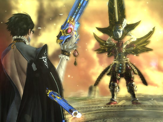 """""""Bayonetta"""" features multiple  creative bosses and powerful opponents to test players' abilities."""