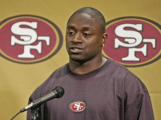 San Francisco 49ers running back Garrison Hearst  in