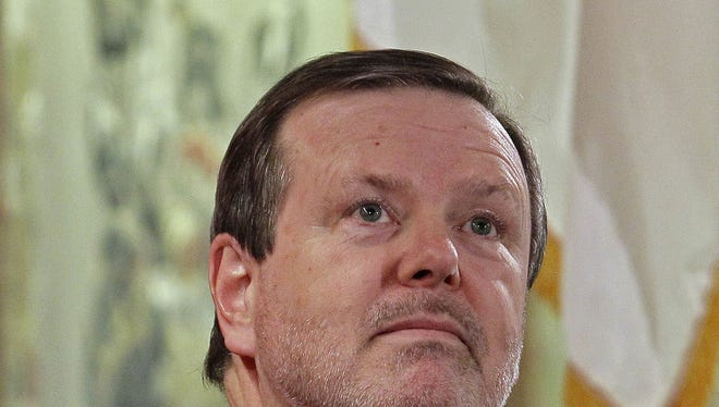 Senate President Pro Tem Phil Berger in a 2011 photo.