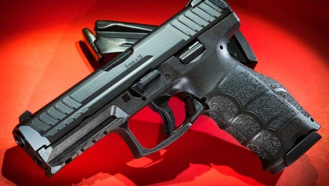 VP9 9mm handgun and magazine