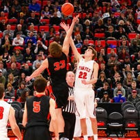 Brighton, Pinckney basketball players make memories at Little Caesars Arena